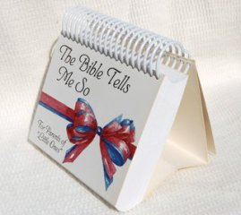 The Bible Tells Me So - Day #1 - Devotional calendar for parents of newborns