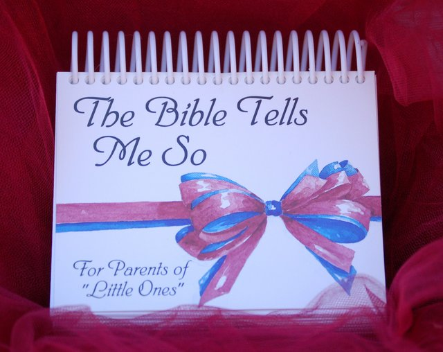 The Bible Tells Me So - Devotional Calendar - baby gift