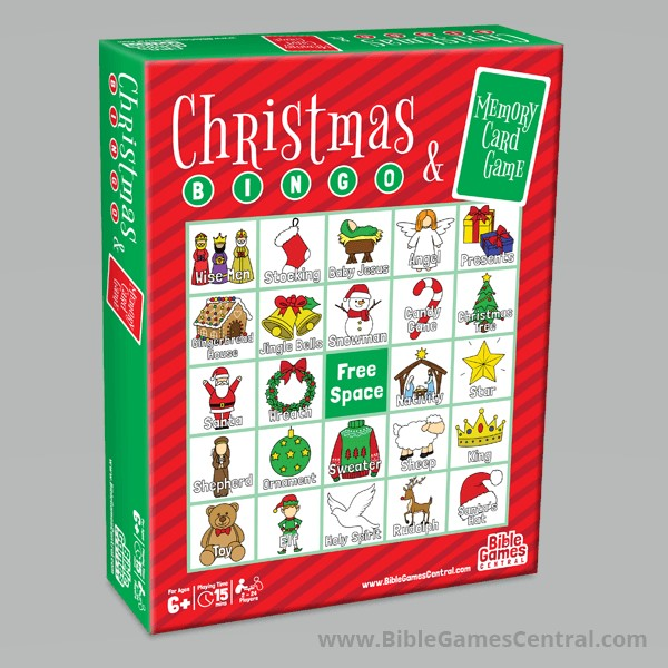 Christmas Bingo and Memory Card Game - Review